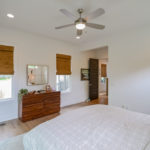 As you walk to the back of the home you will find your private master bedroom.