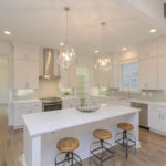 This home has spacious gourmet kitchen with plenty of countertop space.