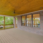 This house lends itself to entertaining space, especially for BBQs with friends and neighbors.