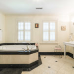 Master bathroom suite is your very own oasis with a whirlpool tub.