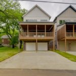 Two car garage tucked under the house completes this amazing home, listed at $825,000!