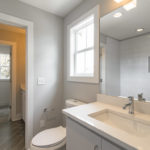 Another full bath upstairs with gorgeous finishes. (Photo may be of 510 A or B).