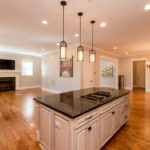 Perfect floor plan for entertaining! Great fact--this house has a fire sprinkler system.