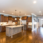 Greet you guests and make them immediate feel at home as you welcome them into your great room/kitchen.