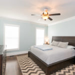 Master bedroom is located downstairs. Spacious and peaceful space serves as your oasis from the crazy work day.