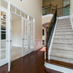 Your guest will feel welcomed with the elegant 2 story foyer.
