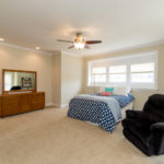Master bedroom is enormous and located at front of 2nd floor.