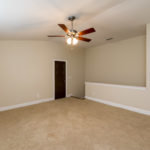 Then up to the third floor with the best space of all! The fourth bedroom with walk in closet, walk in storage and a full bath.