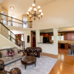 Open floor plan in this home is perfect for entertaining!