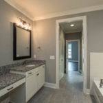 Master bath is your oasis from the busy world - separate tub and shower and large walk in closet.