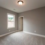 The third bedroom is tucked behind the rec room for utmost quiet and privacy.