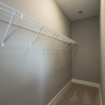 The third bedroom closet is enormous and would also be great for storage.