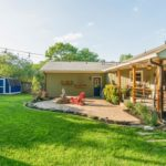 Patio + firepit + deck + yard = awesome party space!