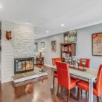 Perfect entertaining flow to this floor plan with the gas fireplace as the focal point.