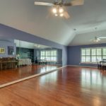 Do you have a dancer in your family? What an awesome room for practicing your arabesques and ballet technique - or get crazy with your hip hop dancing!