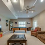 Recreation room with plenty of space to relax and play!