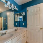 4 full baths in the home - this one shared with double vanity for peace in your world.