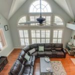 Soaring ceilings and lots of natural light in your gathering space in the heart of the home.