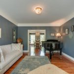 Sitting room or music room for a peaceful afternoon spent at your piano.