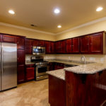 Granite countertops, stainless appliances and loads of cabinet space are all perfect for the gourmet cook in your family.