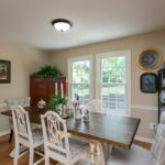 Large dining room area for all your family gatherings.