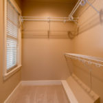 2nd bedroom has a closet to rival the master closet.