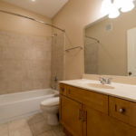 And, 2nd bedroom also has its own en suite bath.