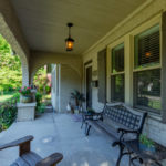 Relax on your front porch and get to know your neighbors!