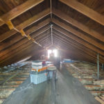 Partially floored attic provides great storage - seller has plans for expansion build out here which can be shared with an acceptable offer.