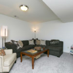 Take advantage of this finished basement level - great flex space for a media room, recording studio, etc.
