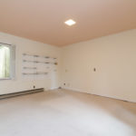 The 4th bedroom which is 15x13 and has a great closet with built in drawers & additional shelving on the wall.