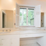 The 3rd and 4th bedrooms share this Jack & Jill bath.