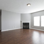 Spacious open floor plan with new LED lights throughout.