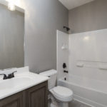Full guest bath also serves as your lower level powder room