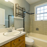 The full bath with combination tub/shower - there are two full baths on the main level.