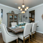 Formal dining room spacious enough for all your guests and family gatherings.