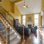Greet your guests from your elegant entry foyer.