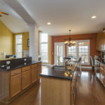 The kitchen has new appliances including LG fridge. The granite countertops, plentiful cabinets and pantry will please the cook in your family.
