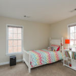 The 2nd additional bedroom has great natural light and a walk in closet.
