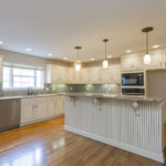 This kitchen has everything you could want - granite countertops, stainless appliances, cabinet space galore!