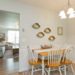 Your family will enjoy breakfast together in the kitchen.