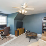 The bonus room can be purposed for work, play, or both!