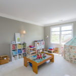 The third bedroom can also make a perfect playroom or hobby room.