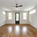 Greet guests in style from your new living room. These real sanded and finished hardwoods are throughout the main level.
