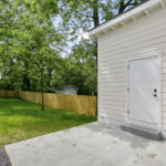 Outside detached storage area for your convenience.