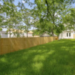 Fully fenced yard for all your outdoor entertaining of friends and family. Get to know your new neighbors in this lovely space.