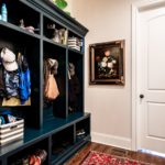 Cubbies are convenient to the laundry room and garage to tame the wild mess of coats, shoes, backpacks.