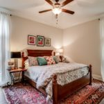 This bedroom is also on the main level and includes its own full bath and walk in closet.