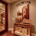 Custom Designed Wine Cellar, temperature controlled and ready for your collection.