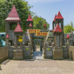Kids will simply love playing here afternoons and weekends - the Field of Dreams playground!